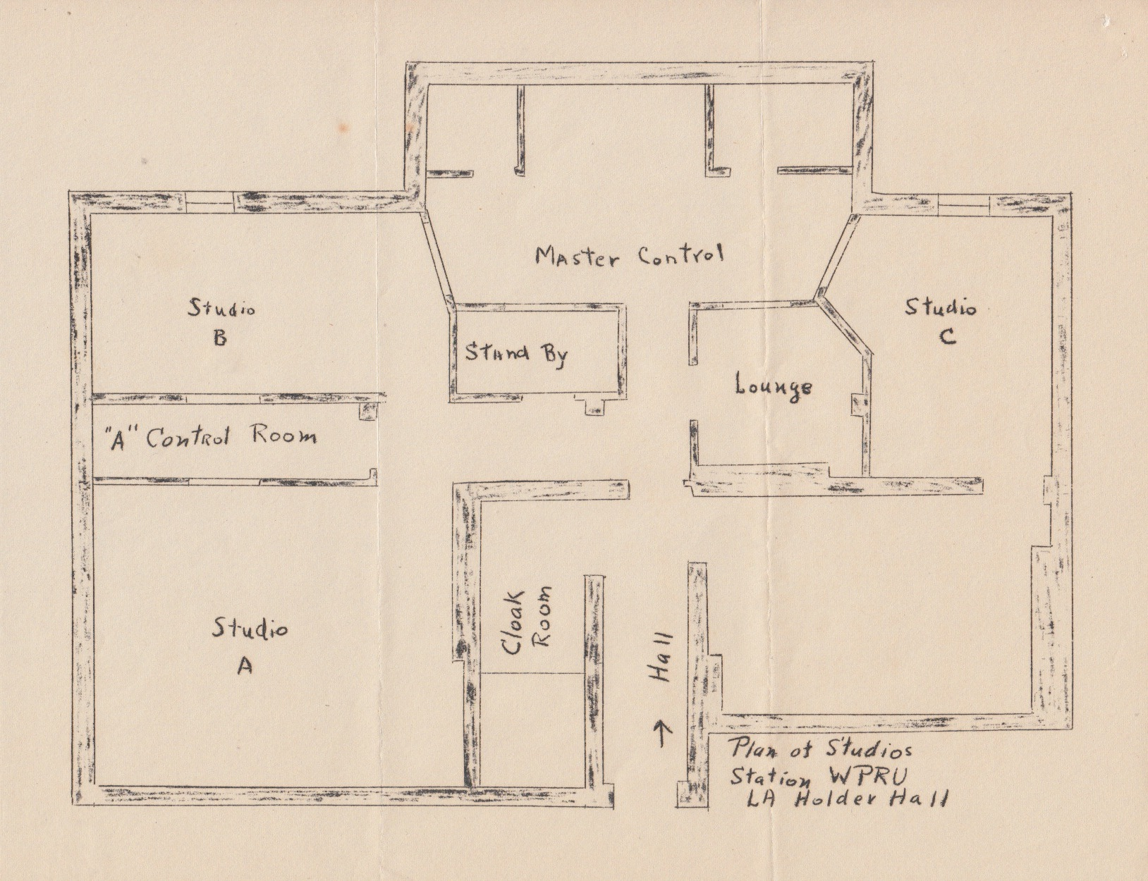Wpru artifacts reveal station 39 s early history wprb history for Floor plan holder