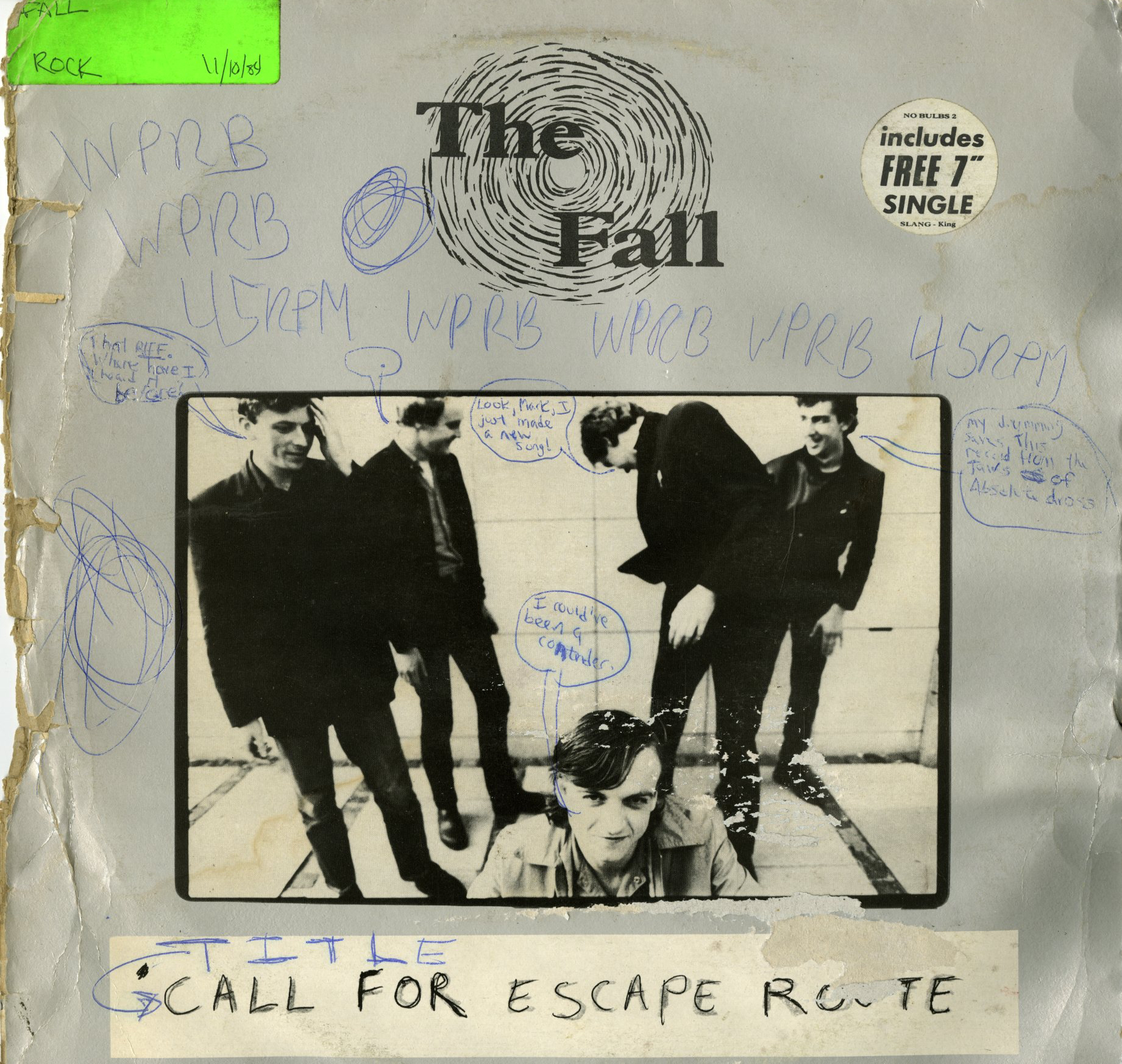 The_Fall_-_Call_for_Escape_Route