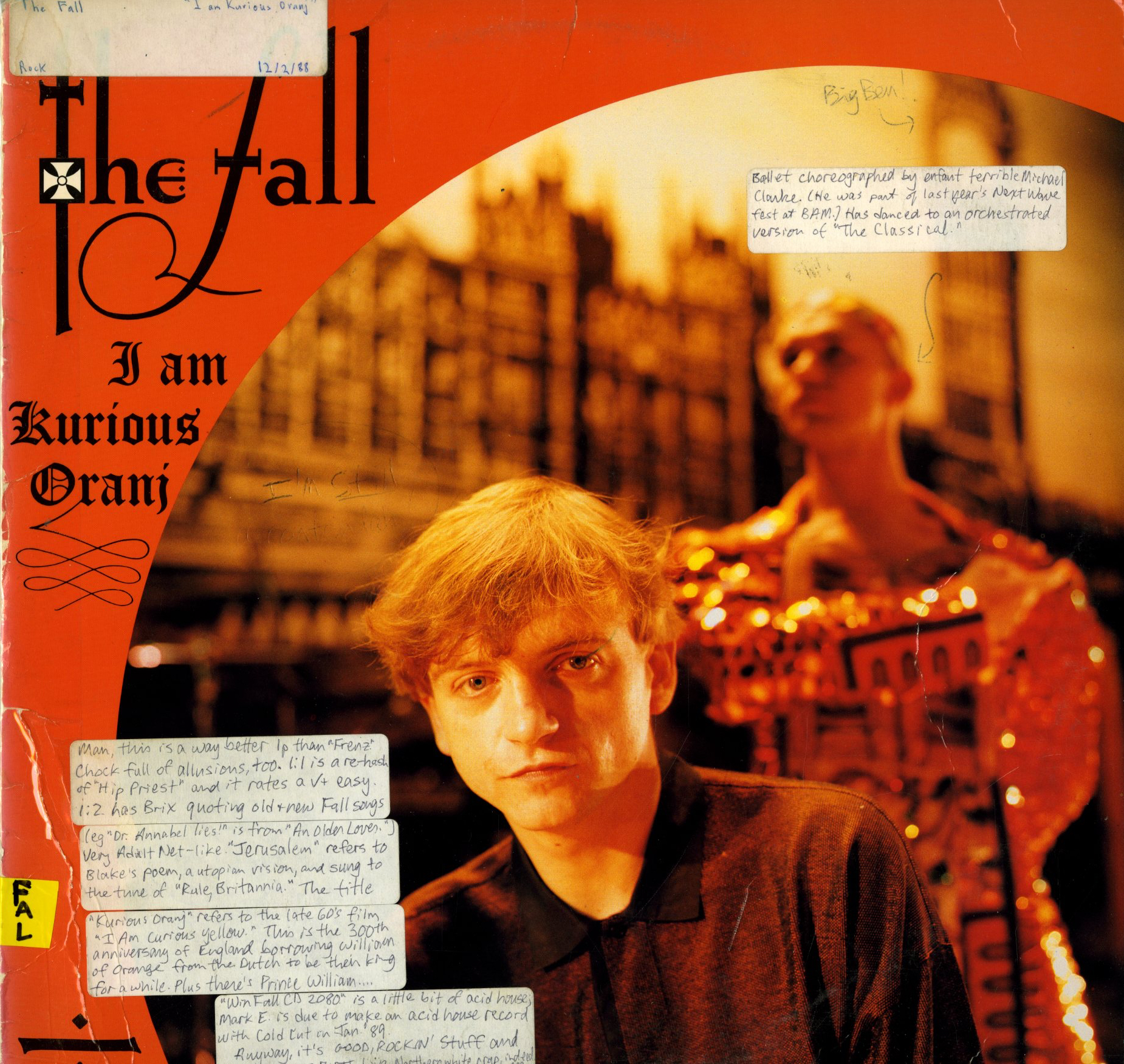 The_Fall_-_I_Am_Kurious_Oranj