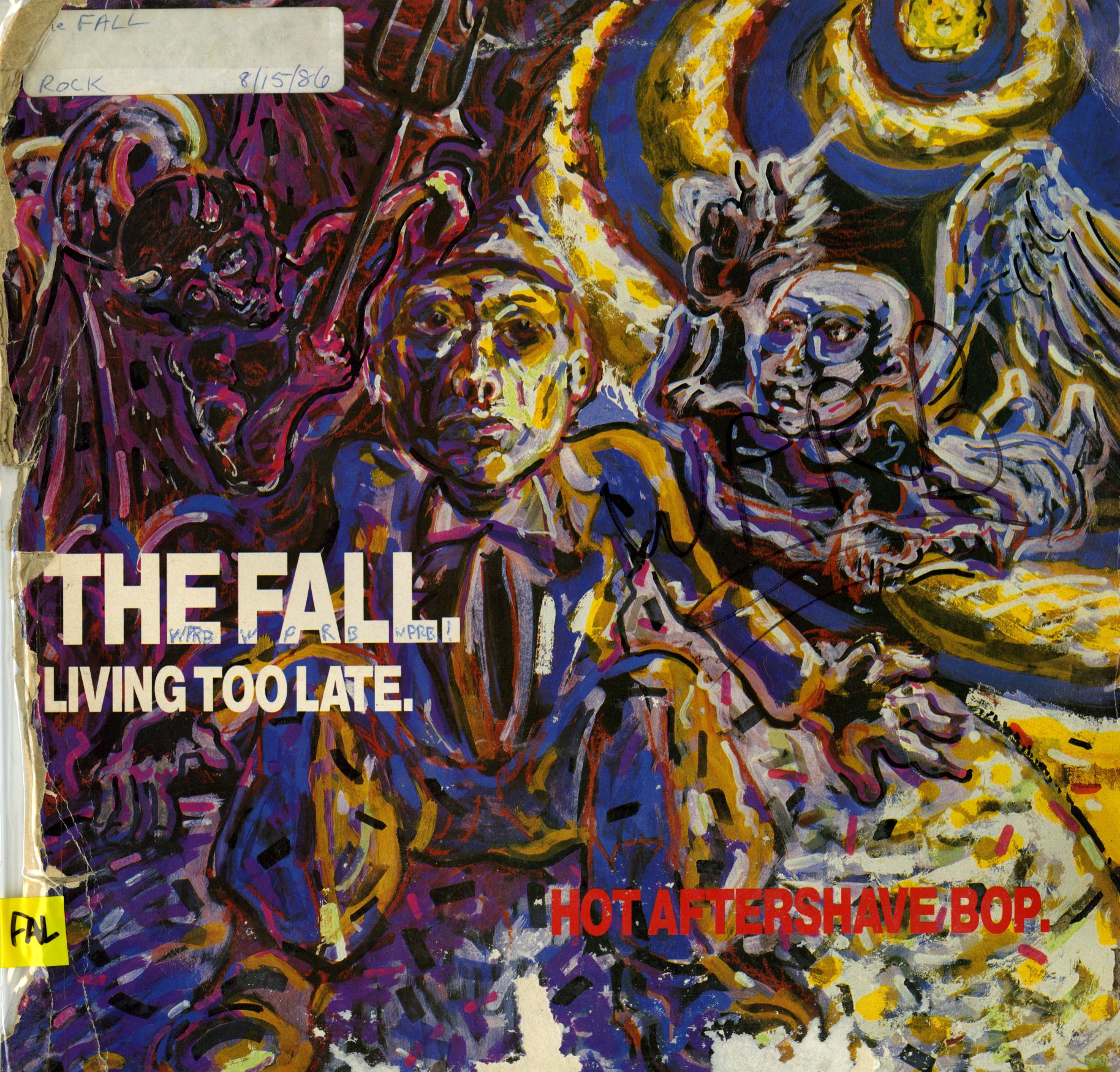 The_Fall_-_Living_too_Late