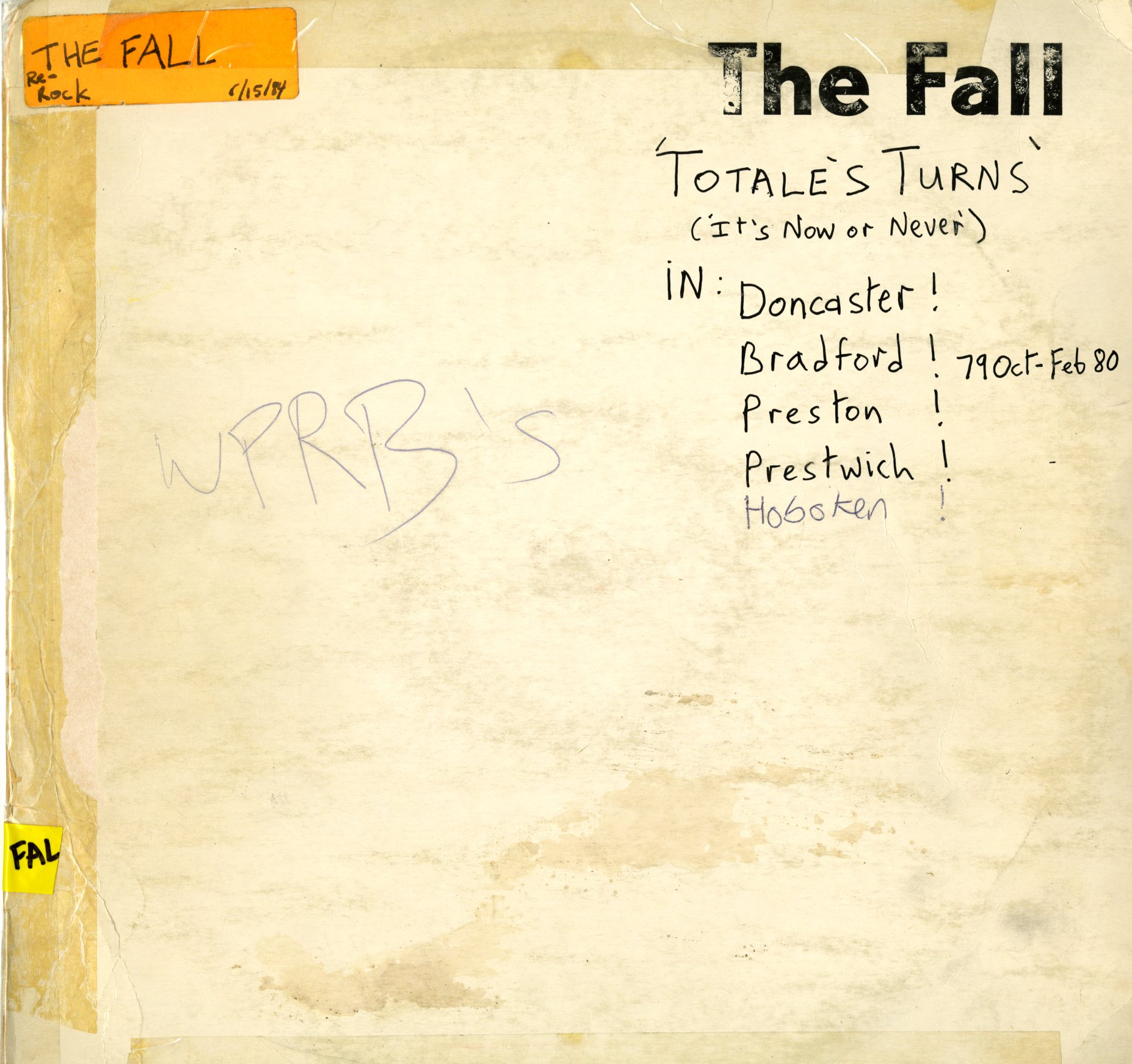 The_Fall_-_Totales_Turns